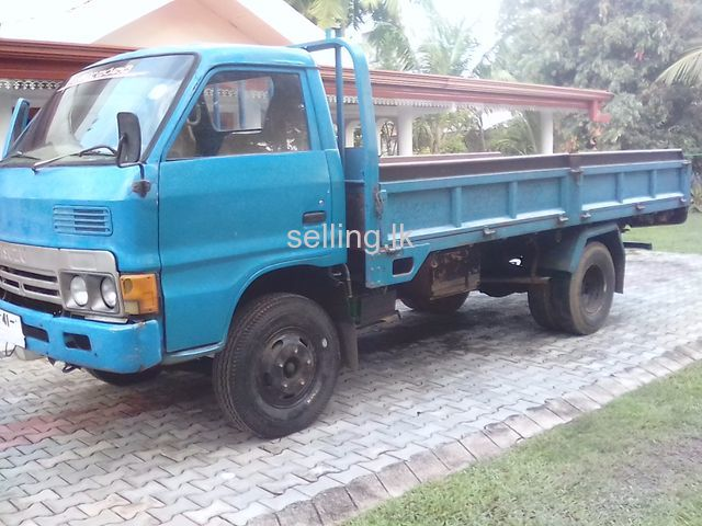 Isuzu wide lorry