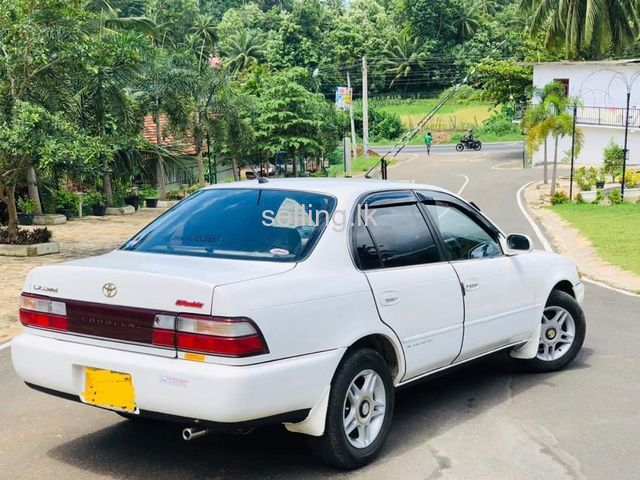 Toyota Corolla EE100 LX Limited Gold Badge