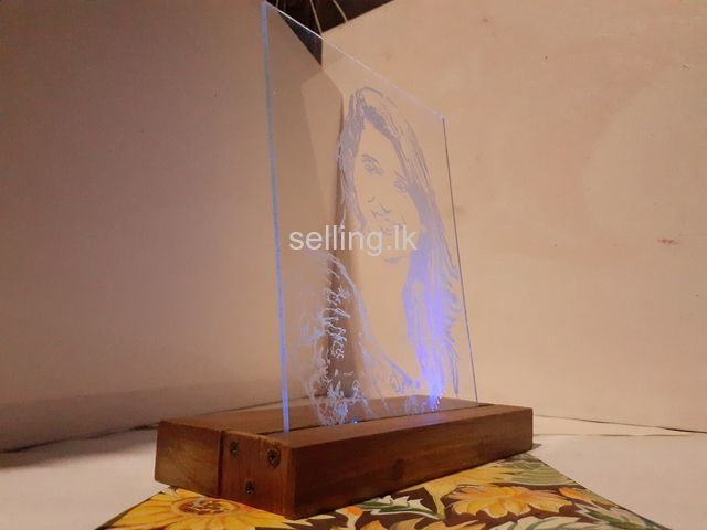 Glass Carving
