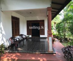 4 Bed room house with 62.2 perches land