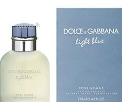D&G Light Blue 125ml Men's