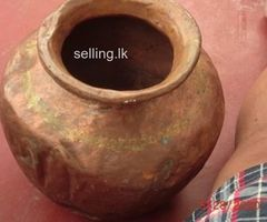 Antique Copper Pot For sale,