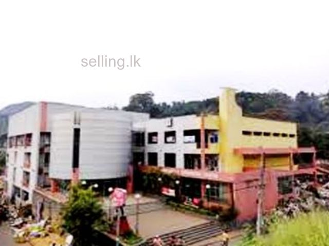 Commercial shop available for Rent in Bandarawela (CC)