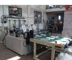 POLYTHENE BAG CUTTING MACHINE