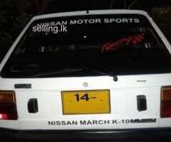 Nissan March- K10 for sale