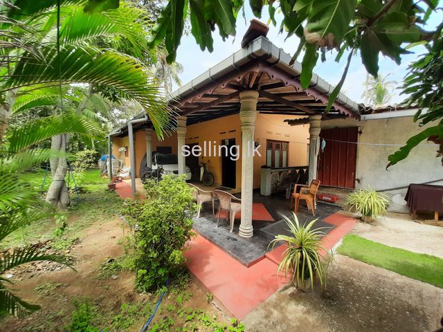 Land with House and Commerial Space for sale