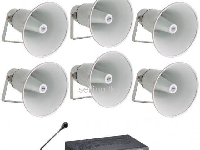 public address system PA Intercom CCTV IP Fiber Smartbell
