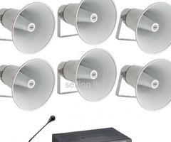 public address system PA Intercom CCTV IP Fiber Smartbell