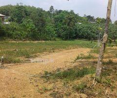 හිස් ඉඩමක් පදිංචිය සදහා ඉතා සුදුසුයි - land for sale in Dompe
