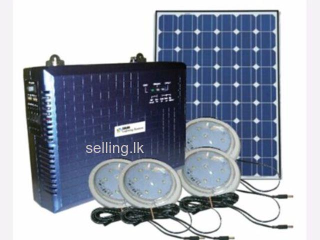 Olik Solar Lighting System