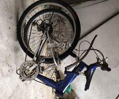 Original Japan mountain bike දෙකට නැවිය හැක