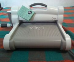 sizzix big shot plus die cutting machine