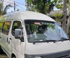 Toyota dolphin high roof van