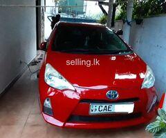 Toyota Aqua G grade 2015 for sale