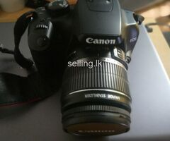 Canon 1000D camera for sale