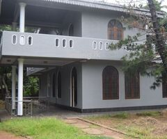 two story house with land face to galle road