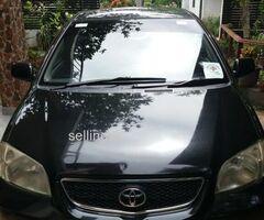 Toyota Vios E 2004 Car Registered (Used)