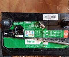 Lucas Car battery UK brand