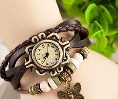 Retro Butterfly Women Gift Watch