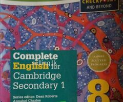 Cambridge books For Stage 8