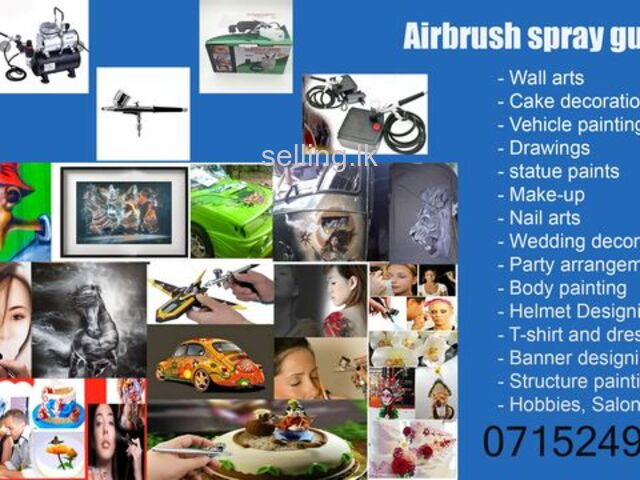 Airbrush, Compressor and Accessories