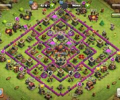 Clash of Clans TH10 Base for 15000