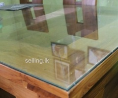 Carefully used teak furniture For sale in Panadura