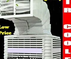 Evaporative air cooling pads systems