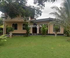 Land with a house for sale in Battaramulla