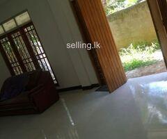 House rent At kiribathkumbura  kandy
