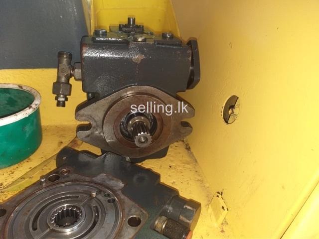 JCB excavator hydraulic pump repairs