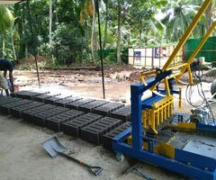 Cement block machine