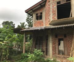70% finished house for sale- Galle- Wanchawala