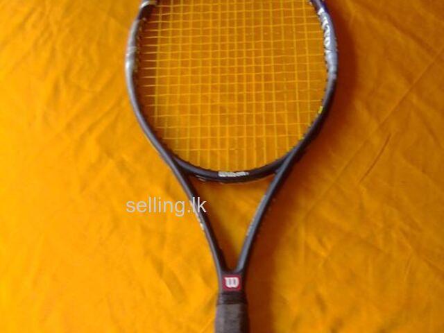 Wilson and volki racket