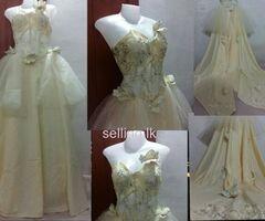 Wedding dress / bridal gown / going away frocks