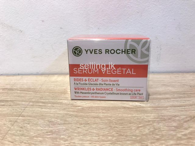 YVES ROCHER WRINKLES & RADIANCE smoothing care from FRANCE Day Cream