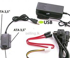 IDE and SATA to USB Converter