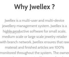 "Best Jewellery Factory Management Software-""Jwellex"""