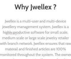 "Best Jewellery Factory Management Software-""Jwellex"""