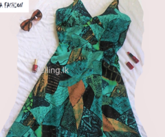 Women's summer dress - Green