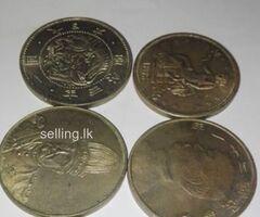 Old silver rare coins