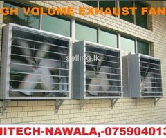 High volume exhaust fans srilanka, exhaust fan srilanka.