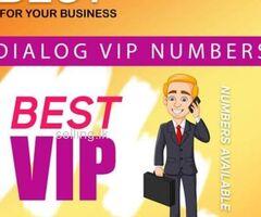 Dialog 0777 777 ViP Numbers
