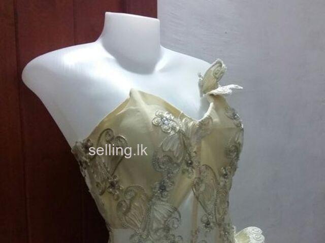 Bridal frock / Going away dress