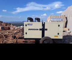 Doosan Portable screw Type Air Compressor