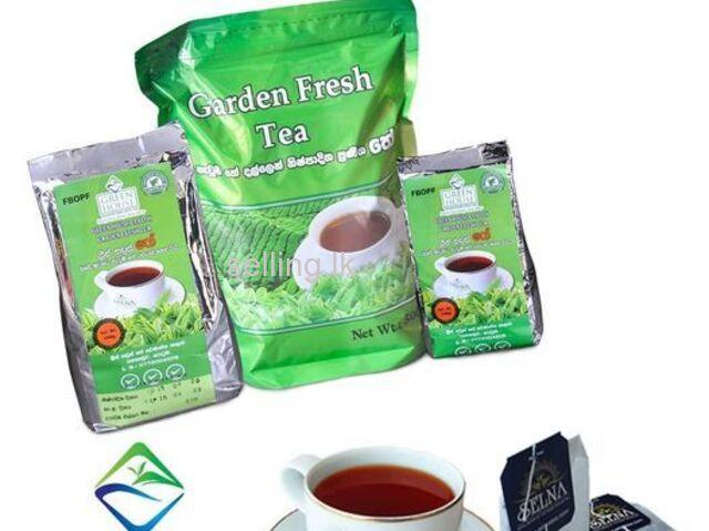 Green House ceylon garden Fresh Tea 200g DUST