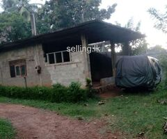 Land with a house for sale in Ganemulla
