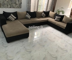 U shape sofa for SALE!
