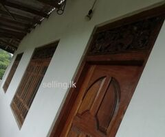Upstair house for rent in Avissawella
