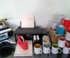 Sublimation Mug Printing Mug Press Epson Printer - All in One Package